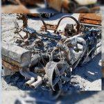 Полностью сгоревшее авто можно еще и продать
